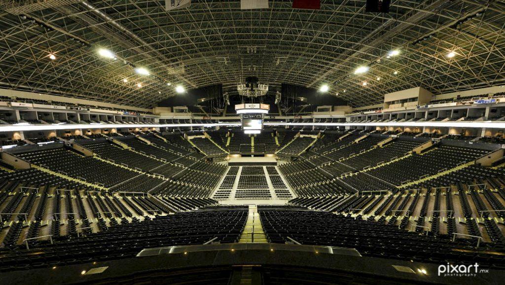 Vista desde mi lugar en la Arena Monterrey para SuperBoletos