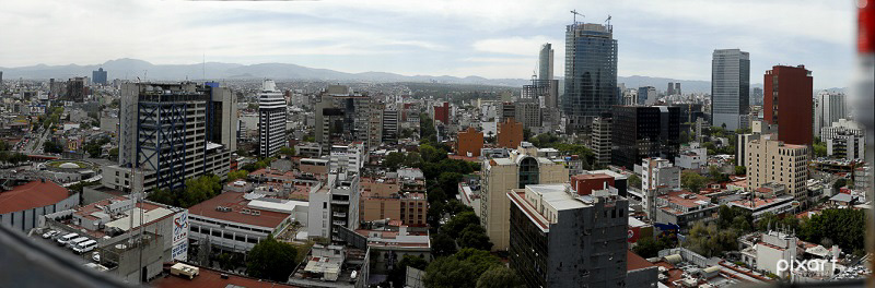 Gigapixel Mexico City view