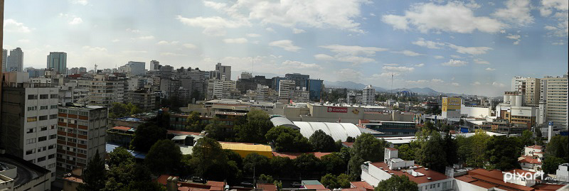 Gigapixel View of Polanco during the day